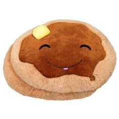 Squishable Pancakes, $30, now featured on Fab. | http://www.squishable.com/pc/comfortfood_pancakes/Big_Animals/Comfort+Food+Pancakes