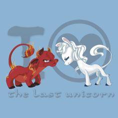 I heart The Last Unicorn