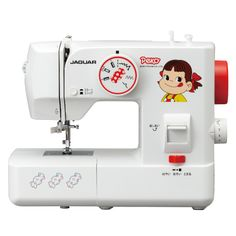 Electric Sewing Machine FP-06|Peko-chan|Click image for product details◎  電動ミシン FP-06|ペコちゃん|画像をクリックすると製品詳細をご覧いただけます◎ #JAGUAR #sewingmachine