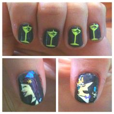 Tales of the Cocktail nails done by Nail Nerd!!