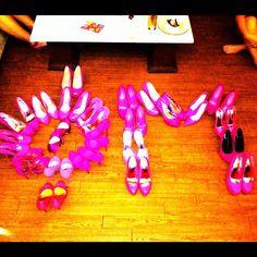 Pink heels, Phi Mu