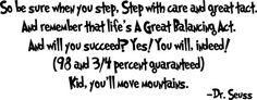 Dr. Seuss, ladies and gentlemen. <3