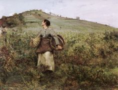 At Harvest Time, 1880, Bastien Lepage