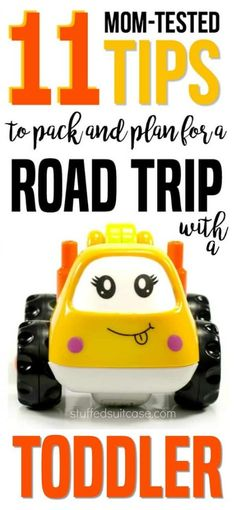 Get ready for a road trip with a toddler with these mom-tested planning tips, tricks, and activities.