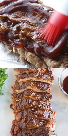 These Instant Pot Ribs are so tender flavorful and delicious its really hard to believe they cook in just about 30 minutes! Another great easy recipe made with your pressure cooker. Instant Pot Ribs Recipe, Instant Pot Dinner Recipes, Easy Dinner Recipes, Easy Meals, Instant Pot Pressure Cooker, Pressure Cooker Recipes, Pressure Cooker Ribs, Rib Recipes, Venison Recipes