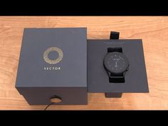 Vector Smartwatch Unboxing and Impressions - YouTube