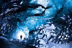 Skaftafell Cave Iceland