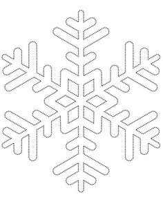 Snowflake template 1 - Free Printable Coloring Pages by aubree_hays String Art Templates, String Art Patterns, Snowflake Template, Snowflake Pattern, Snowflake Stencil, Snowflake Pillow, Snowflake Printables, Feather Template, String Art
