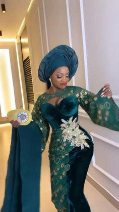 Nigerian Lace Styles Dress, African Party Dresses, African Lace Styles, Lace Dress Styles, Latest African Fashion Dresses, African Dresses For Women, African Attire, Cord Lace Styles, Aso Ebi Lace Styles