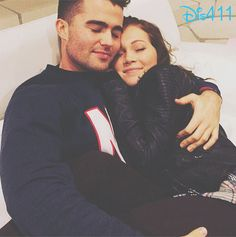 Photo: Kelli Berglund With Spencer Boldman December 18, 2014