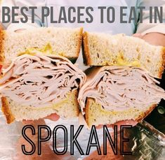Some restaurants to try in Spokane