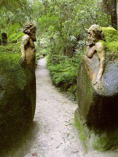 William Ricketts Sanctuary in the Dandenong National Park / Victoria, Australia