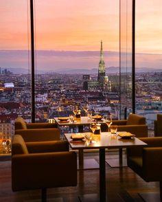 SO/Vienna rooftop bar, Austria Vienna Restaurant, Vienna Hotel, Rooftop Restaurant, Vienna Bars, Sofitel Hotel, Best Rooftop Bars, Austria Travel, Vienna Austria, Travel Around The World