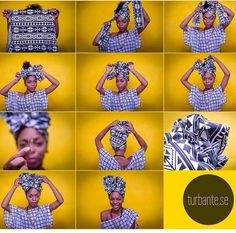 Style Guide: How to tie chic head wrap styles The Afrofusion Spot # 1 Spot for African fashion, music, lifestyle & entertainment in Africa & dias Turban Tutorial, Hair Wrap Scarf, Curly Hair Styles, Natural Hair Styles, Oyin Handmade, African Head Wraps, Turban Style, Scarf Hairstyles, Bad Hair Day
