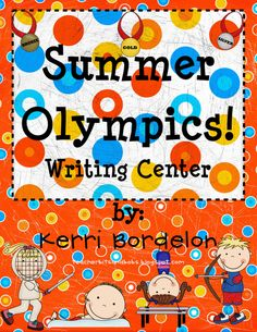 Teacher Bits and Bobs: Summer Olympics, Superheroes, and a Math FREEBIE!