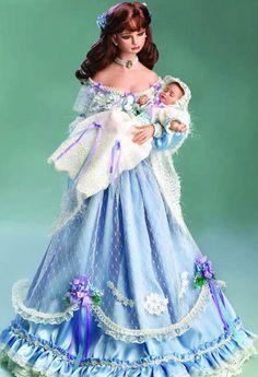History Porcelain Doll