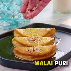 """SooperChef on Instagram: """"Malai Puri recipe, a pancake dessert. Very popular Bengali sweet is a treat for meetha lovers. Give it a try this weekend and share your…"""""""