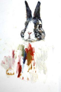 """Saatchi Art Artist Isobel Wood; Painting, """"animal 5"""" #art"""