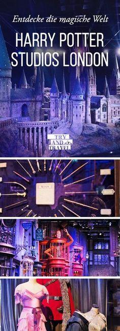 Entdecke die Harry Potter Studios! Ein Must-Have für echte Harry Potter Fans #harrypotter #london #traveltips #travel #reisen