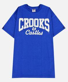 Crooks & Castles The Core Logo D.O.E. T-Shirt (royal)