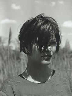 Really Short Messy Line Bob Hairstyles