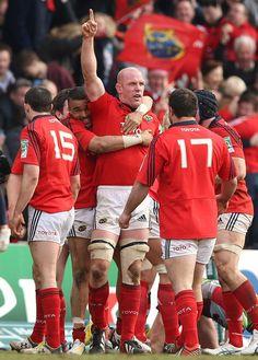 Gloucester v Munster 2014 Munster Rugby, World Rugby, Cycling Shorts, Baseball Cards, Sports, Gloucester, Men, Board, Vintage