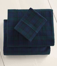 Heritage Chamois Flannel Sheet Set, Plaid: Sheet Sets | Free Shipping at L.L.Bean