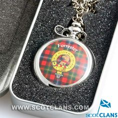 Forrester Clan Crest Pocket Watch