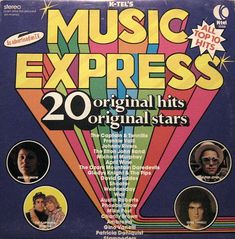 K-Tel Records .. The record I had had a different playlist on this record.