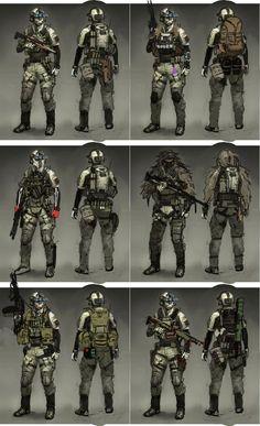 Sci Fi Armor, Sci Fi Weapons, Weapon Concept Art, Armor Concept, Marine Gear, Tactical Armor, Combat Armor, Futuristic Armour, Future Soldier