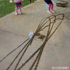 pendulum kresleni s vodou