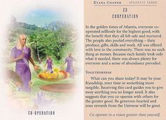 Today's Atlantis Card – Diana Cooper = 19 octombrie 2016 Diana Cooper, Animal Spirit Guides, Angel Cards, Oracle Cards, Past Life, Card Reading, Kids Cards, Atlantis, Swagg