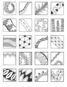 FREE DOWNLOAD! Linear Style Pattern Sheets