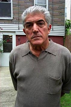 Frank Vincent is famous for his roles in movies such as Goodfellas, Casino, and Raging Bull. Frank Vincent, Giant Bomb, Tony Soprano, American Crime, Getting Old, Mafia, Movie Tv, Hip Hop, Bada Bing
