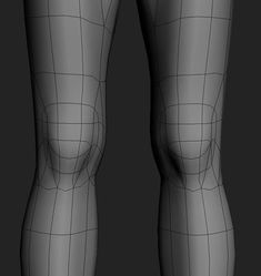 Not sure these are all quads (?) Great flow ans references in the link, though Zbrush, 3d Model Character, Character Modeling, Character Concept, Maya Modeling, Modeling Tips, Body Anatomy, Human Anatomy, Body Reference