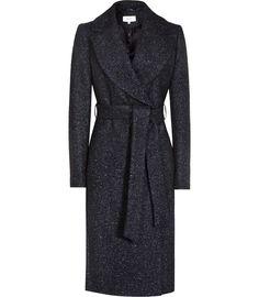 Reiss dark blue coat