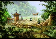 THE HUBBELL TELESCOPE: Kung Fu Panda 2 DS Concepts