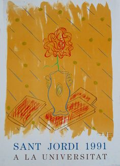 #Cartells #SantJordi2016 Balearic Islands, Cover, Art, Spain, Art Background, Kunst, Performing Arts, Art Education Resources, Artworks