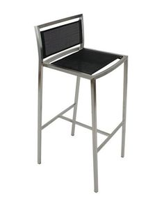 """""""Mesh"""" Modern Stainless Steel Bar Stool in Black – Simply Bar Stools Outdoor Bar Stools, Modern Bar Stools, Stainless Steel Bar Stools, Black Stool, World Market Dining Chairs, Wooden Adirondack Chairs, Restaurant Seating, Big Chair, Bbq Area"""