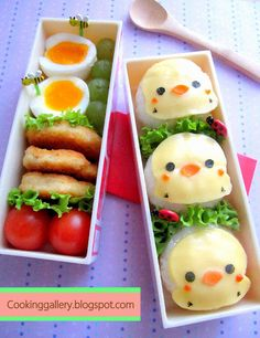 kids lunch box idea from Cooking Gallery