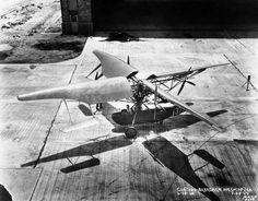 Curtiss-Bleecker SX-5-1 prototype helicopter with propellers mounted on the rotor blades : WeirdWings