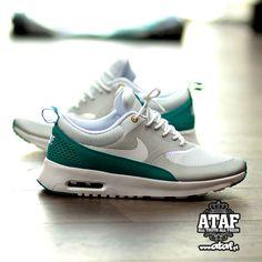 Nike wmns Air Max Thea: Turbo Green Silver White