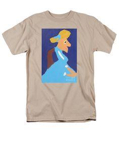 Patrick Francis Sand Designer T-Shirt featuring the painting Portrait Of Adeline Ravoux 2014 - After Vincent Van Gogh by Patrick Francis