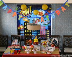 BusyMsDJ's Birthday / Iron Man Marvel Superheroes - Photo Gallery at Catch My Party