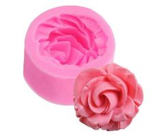 1 pc 3D Rose Flower Fondant Silicone Mold Mould 3.5x3.5x1.6cm Baking Cake Cookies Form Chocolate Soap Sugar Craft Cupcake E160 #clothing,#shoes,#jewelry,#women,#men,#hats,#watches,#belts,#fashion,#style