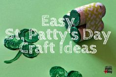 Be Festive with these St. Patty's Day Craft Ideas http://collincounty.citymomsblog.com/mom/easy-st-pattys-day-craft-ideas/ #crafts #DIY