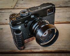 J.B. Camera Designs Pro Wood Grip for Fuji X-Pro 2 Fujifilm X-Pro2 - Handmade in the USA
