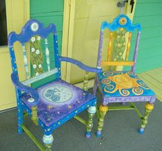 Living Color - Hand Painted Whimsical