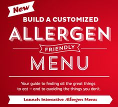 Red Robin Has a New Interactive Allergen Menu {Review} (& Giveaway Ends 6/6)