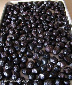Curing Black Olives |